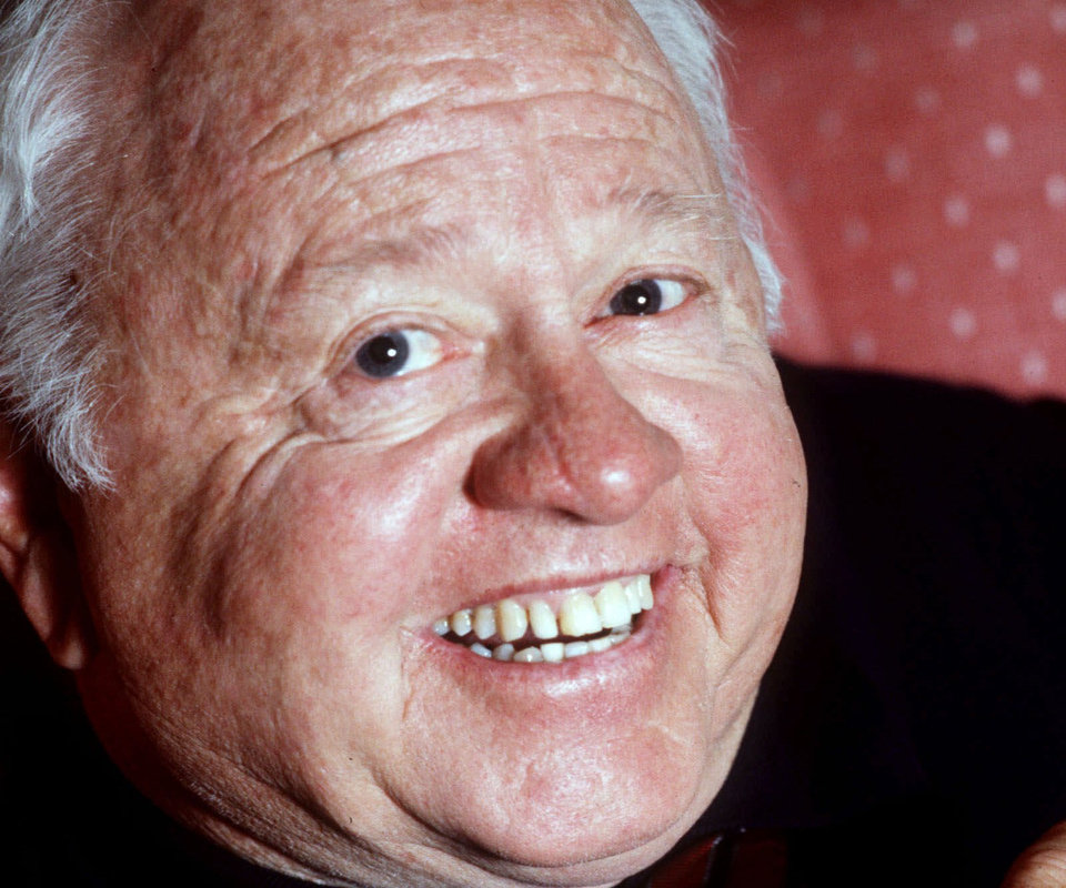 FILE - Entertainment legend Mickey Rooney is shown in this May 1987 file photo. According to The Associated Press, Monday, April 7, 2014, Rooney has died at age 93. (AP Photo/File)