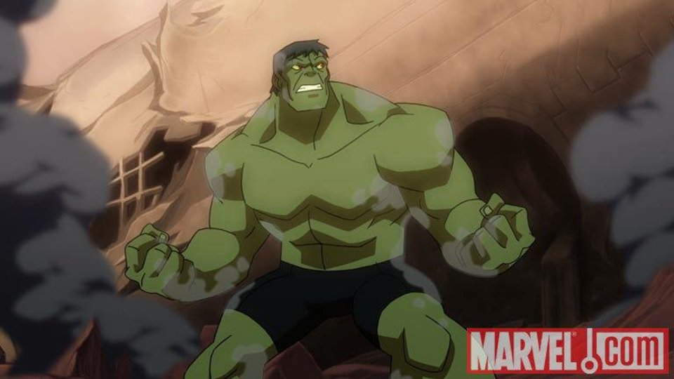 "DVD: Hulk crash-lands on an alien planet in ""Planet Hulk."" MARVEL PHOTO <strong>MARVEL PHOTO</strong>"