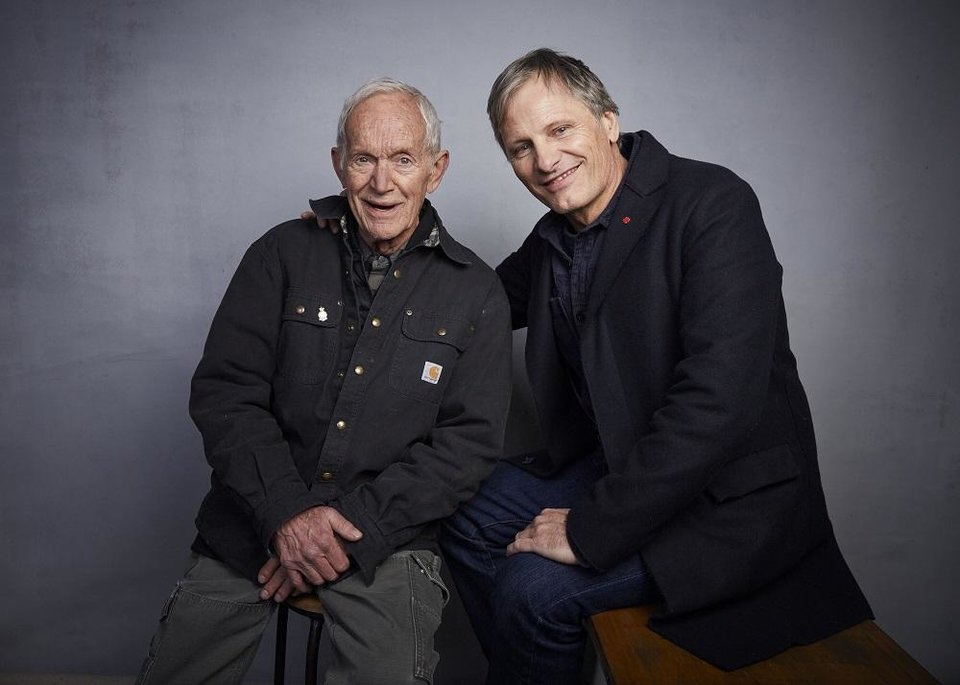 Photo - Lance Henriksen, left, and writer/director Viggo Mortensen pose for a portrait to promote the film