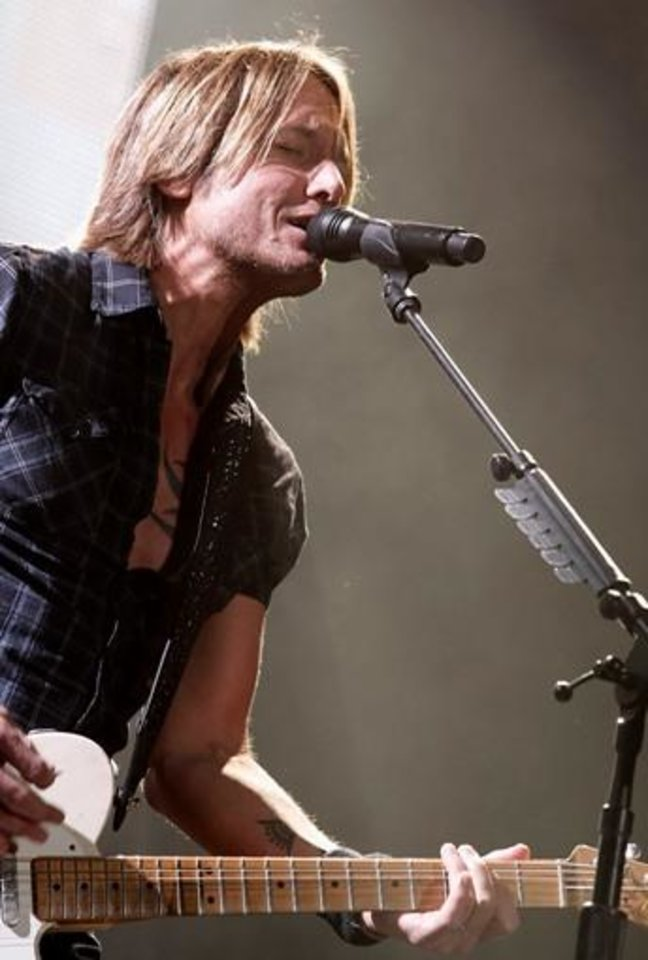 Photo -  Keith Urban (AP file)