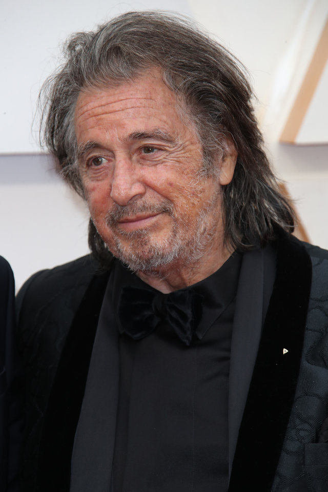Photo - Feb 9, 2020; Los Angeles, CA, USA;  Al Pacino arrives at the 92nd Academy Awards at Dolby Theatre. Mandatory Credit: Dan MacMedan-USA TODAY