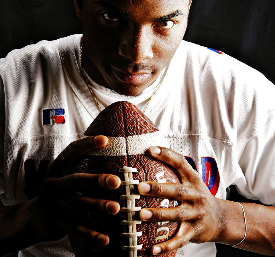 Millwood High School\'s Gerald Jones All Little City, All State Quarterback and Offensive Player of the Year. by Chris Landsberger, The Oklahoman