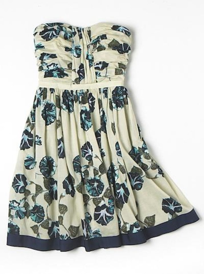 Alberta Ferretti floral strapless dress, $79, at Macy's.