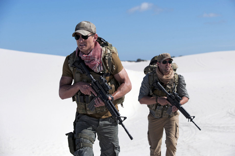 "From left, Philip Winchester and Sullivan Stapleton star in ""Strike Back."" CINEMAX PHOTO <strong></strong>"