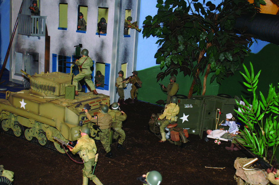 Photo - The military display at the Toy & Action Figure Museum in Pauls Valley will re-create famous battles. PROVIDED BY TOY & ACTION FIGURE MUSEUM ORG XMIT: 0712062214254057