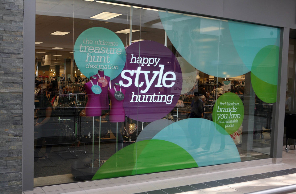 Outside a Nordstrom Rack store. The retailer filed a building permit to remodel the former Linens 'n Things at Belle Isle Station. <strong> - PROVIDED BY NORDSTROM</strong>