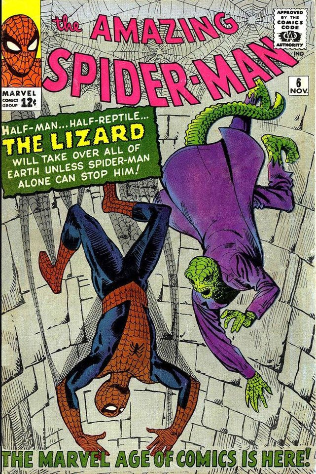 The cover to issue No. 6 of �The Amazing Spider-Man.� Marvel Comics