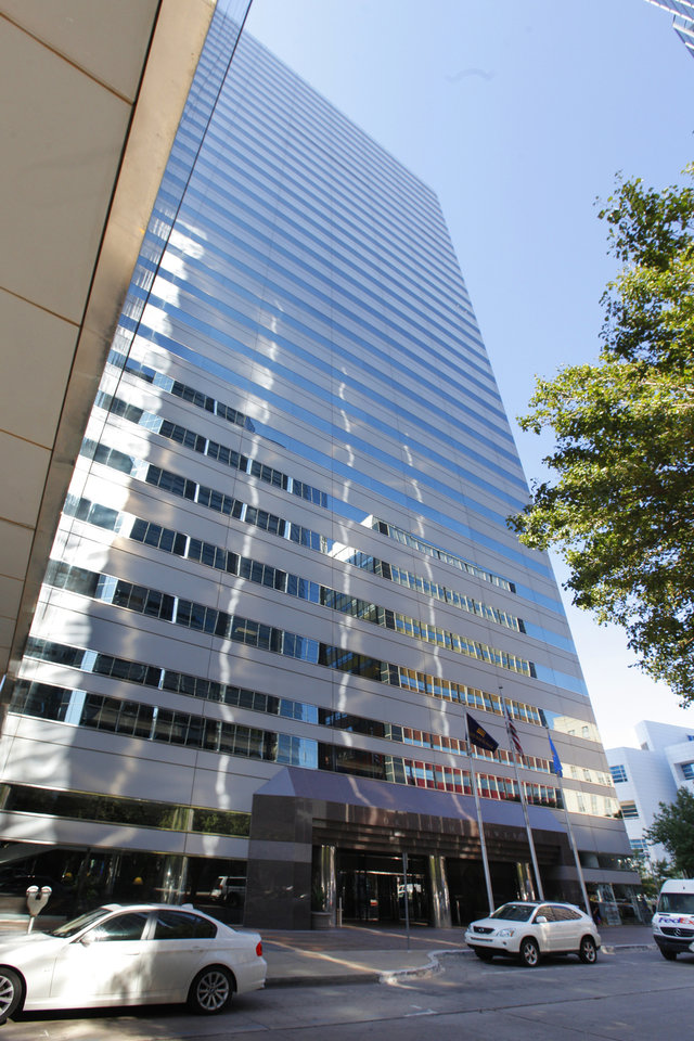 Photo -  Oklahoma Tower, 210 Park Ave. Vacancy in Oklahoma City shrunk from 9.3 percent to 1.4 percent over the first half of 2014, sending average rents to a record $21.41 per square foot per year, according to Price Edwards & Co. PHOTO BY PAUL B. SOUTHERLAND, THE OKLAHOMAN    PAUL B. SOUTHERLAND -  PAUL B. SOUTHERLAND