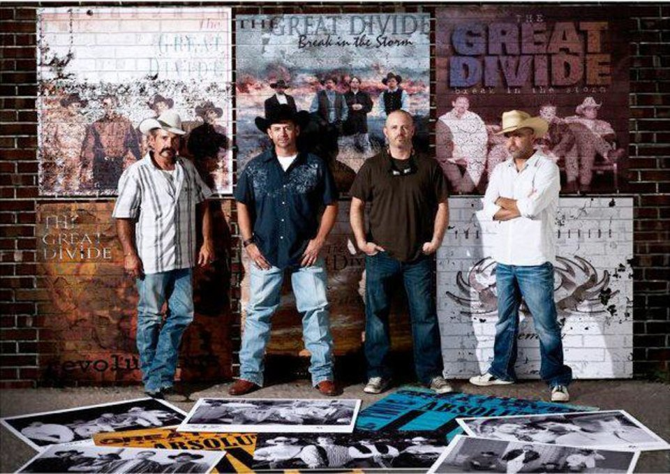 The Great Divide will play the 17th Annual Red Dirt Christmas concert Saturday at Cain\'s Ballroom in Tulsa. Photo provided.