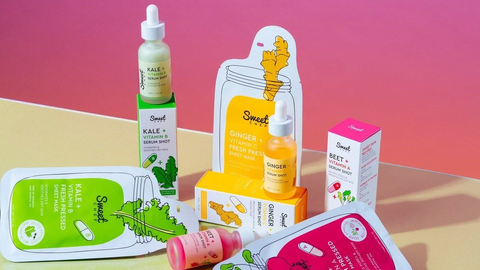 Photo - Sweet Chef Serum Shots and Fresh Pressed Sheet Masks in three varieties. Available Jan. 27 at Target.