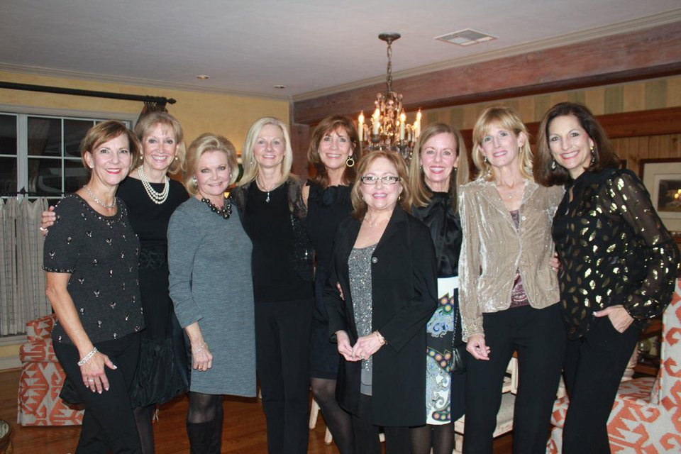 Photo -  Patty Ruffin, Leanne Waddell, Janie Law, Jane Webb, Claudia Robertson, Tina Webster, Penny McCaleb, Melody Brown and Becky McCubbin. PHOTO PROVIDED