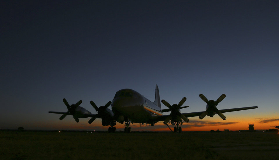 Photo - Royal New Zealand Air Force's P-3 Orion sits on the tarmac at RAAF base Peace in Perth, Australia, Wednesday, April 2, 2014. Ten planes and nine ships resume the search for the missing Malaysia Airlines Flight MH370 in the southern Indian Ocean. (AP Photo/Rob Griffith)