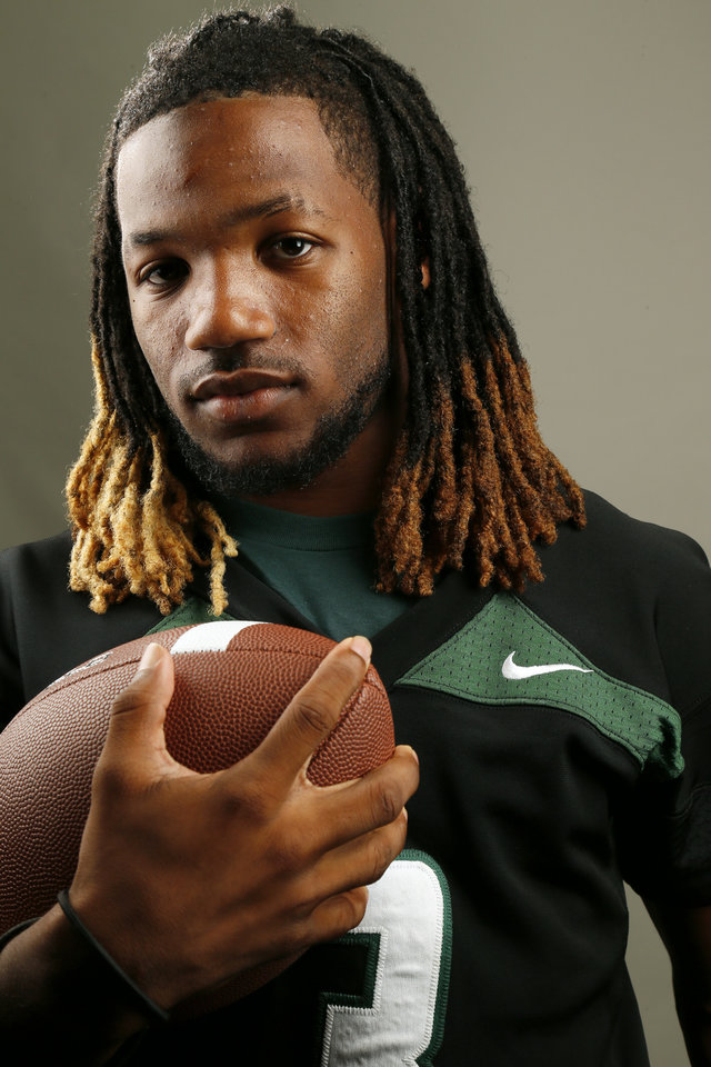 Photo - HIGH SCHOOL FOOTBALL / MUG: Norman North football player Bryan Payne poses for a photo during The Oklahoman's Fall High School Sports Photo Day in Oklahoma City, Wednesday, Aug. 15, 2012. Photo by Nate Billings, The Oklahoman