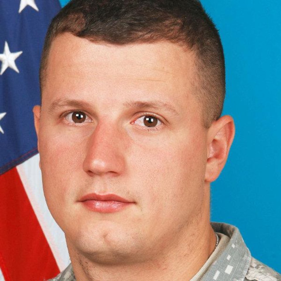 Photo - 2nd Lt. Joe L. Cunningham, Army National Guard soldier from Kingston died Aug. 13 in Afghanistan   - Provided