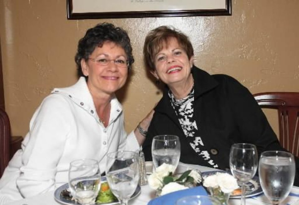 Grenda Moss%u2019 birthday lunch: Sheila Flowers, June Ann Hanks Francis.   (Photo by David Faytinger)