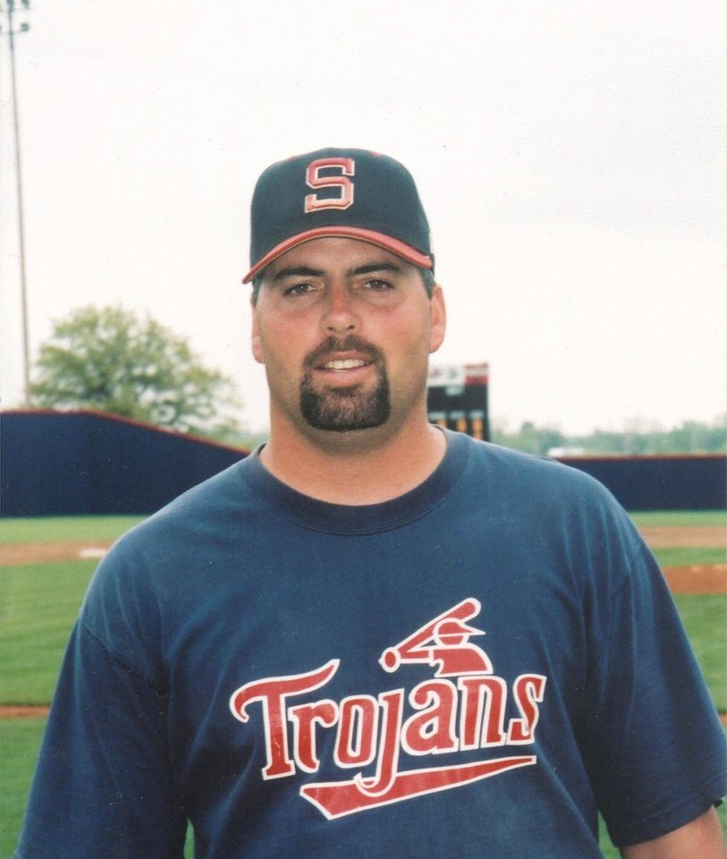 Photo - DEATH: Eric Myers, Former Seminole State baseball coach died at 37. Myers played college ball at Seminole and pitched in the Oakland Athletics' organization  ORG XMIT: 0712062138433981