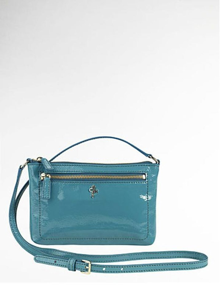 "Get the fashionable socialite looks with this Cole Haan ""Jitney"" all-crossbody bag ($98 at LordandTaylor.com) (LA Times/MCT)"