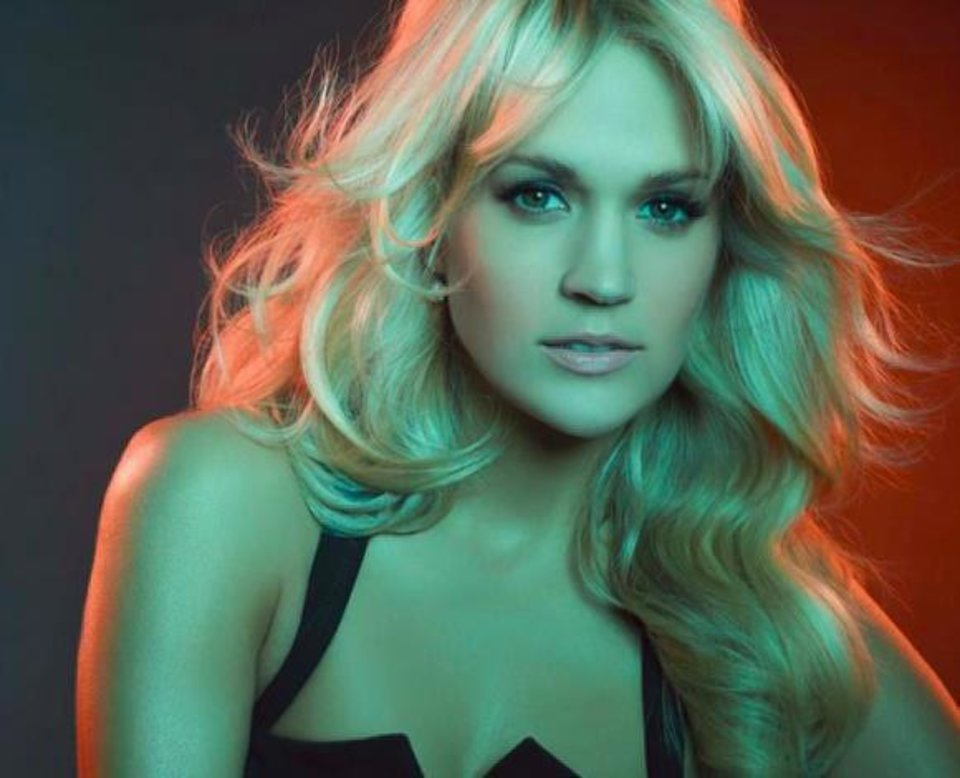 Photo - Carrie Underwood. Photo provided.