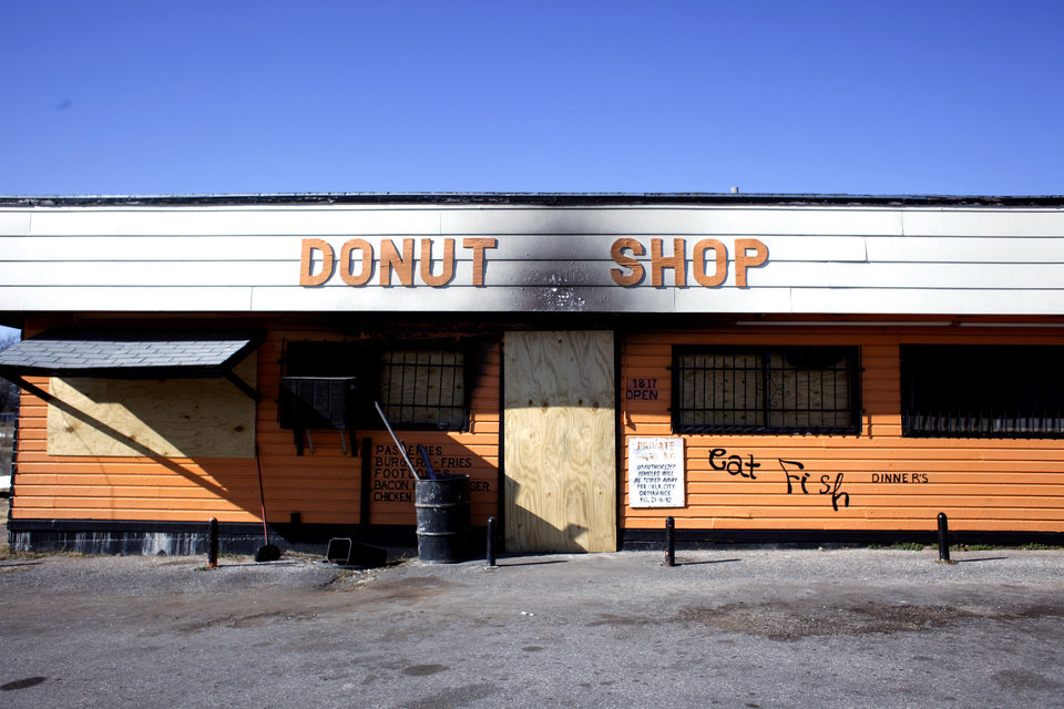 The Donut Shop, 1817 Martin Luther King Ave., is pictured in Oklahoma City, Okla., Sunday, Jan. 10, 2010. Photo by Sarah Phipps, The Oklahoman