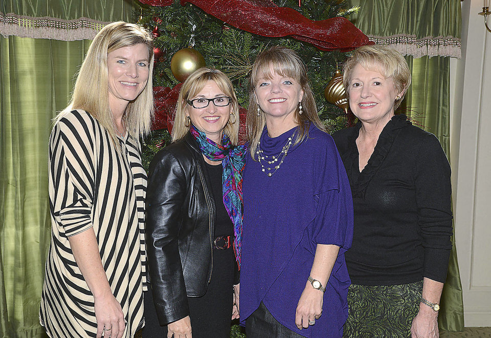 Becky Denny, Kandy Norick, Jill Dobbins, Sharon Wade.  PHOTO BY DAVID FAYTINGER, FOR THE OKLAHOMAN
