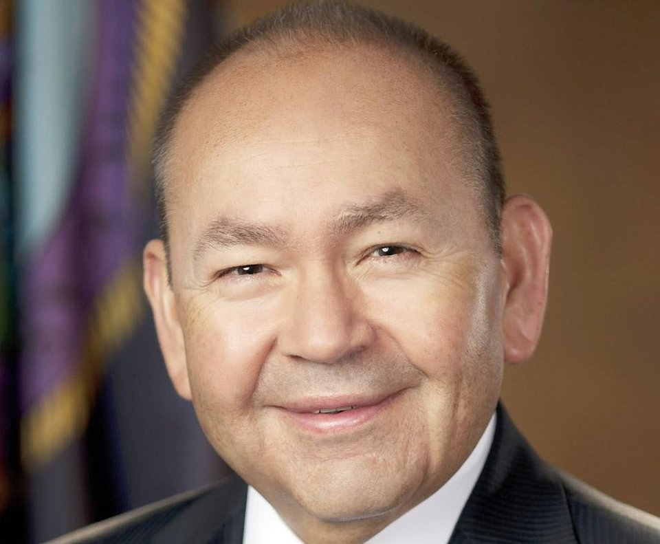 Photo - Bill Anoatubby, governor of Chickasaw Nation. Provided