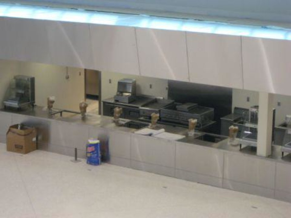 Photo -  Picture of lobby concession stands at Tulsa's BOK Center