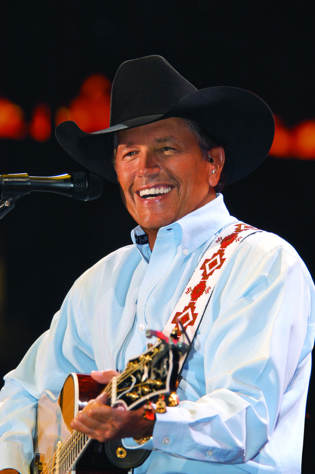 George Strait. Photo by Terry Calonge. <strong>Terry Calonge</strong>