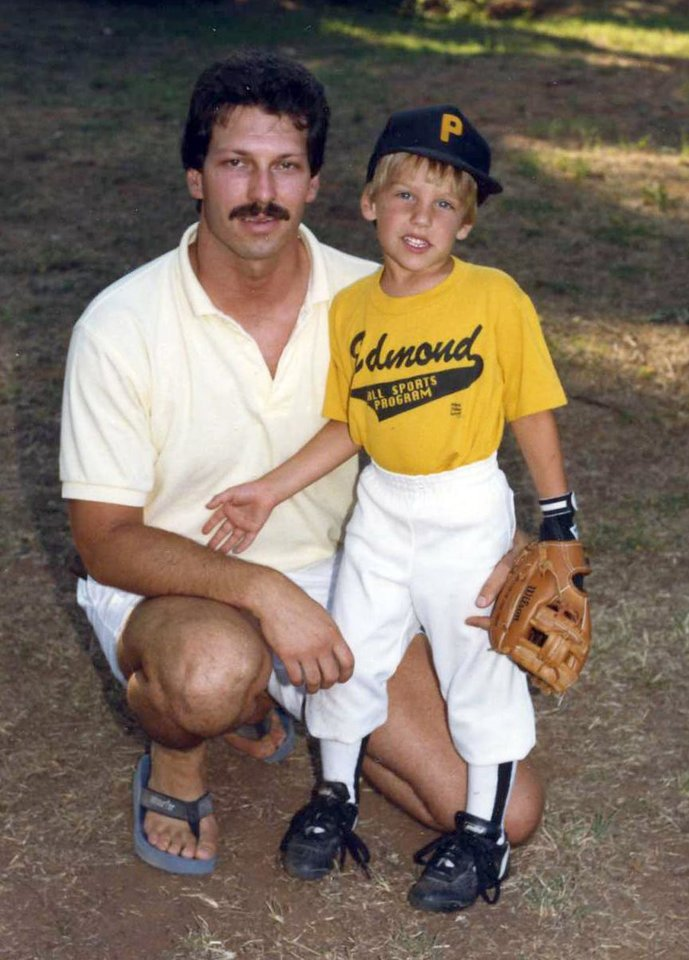 Scott and Michael Behenna around 1989. Photo provided by the Behenna Family