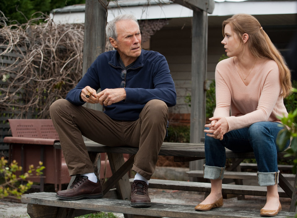 Photo - Clint Eastwood and Amy Adams play a father and daughter weathering a stormy relationship in