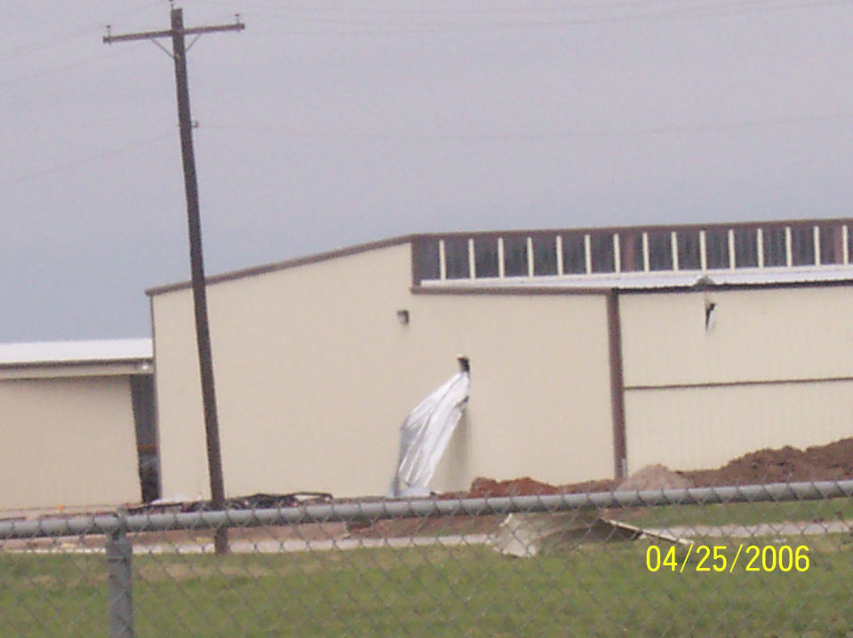 airport damage pics! Community Photo By: melanie coffey el reno ,ok Submitted By: melanie,