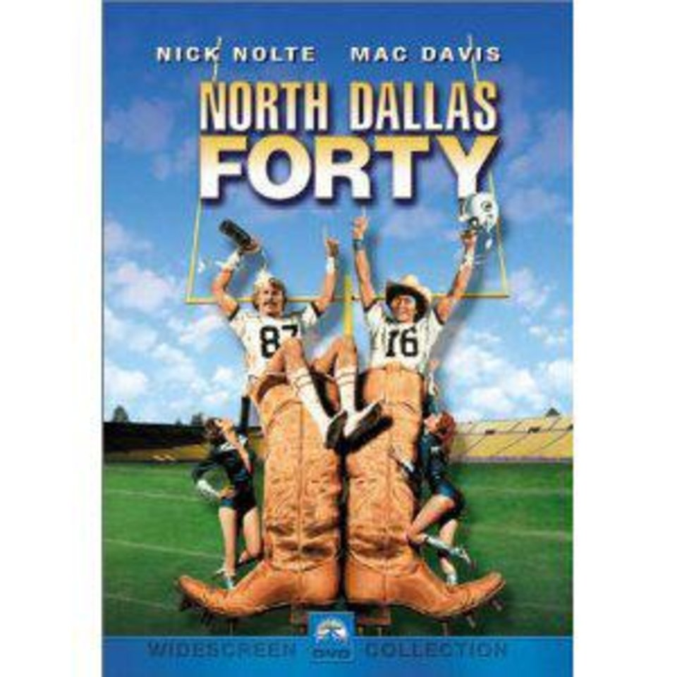 "DVD cover of ""North Dallas Forty."" Photo provided <strong></strong>"