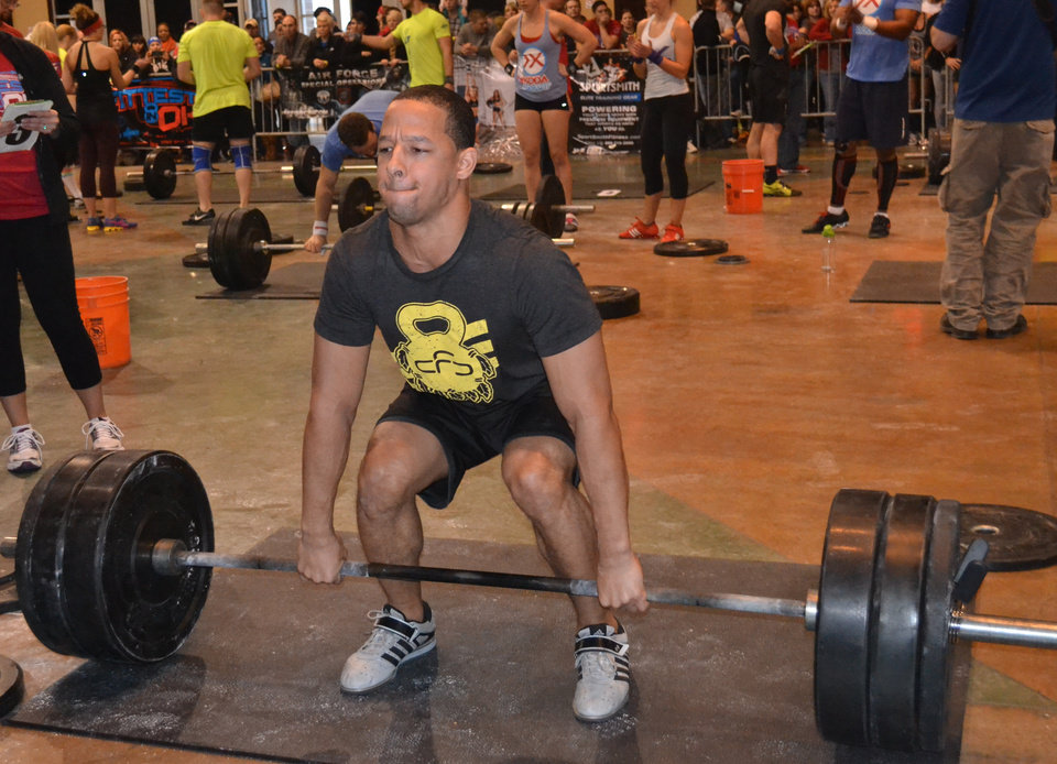 CrossFit athletes from across Oklahoma compete in Sooner State Games