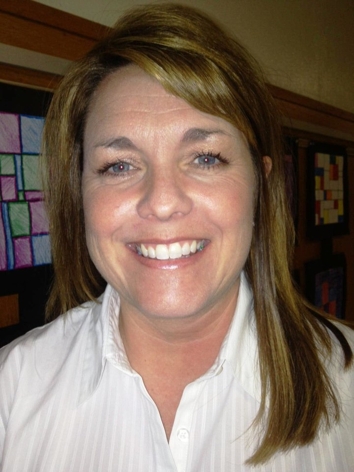 Michelle Pontikos Pontikos was named principal of Roosevelt Middle School.