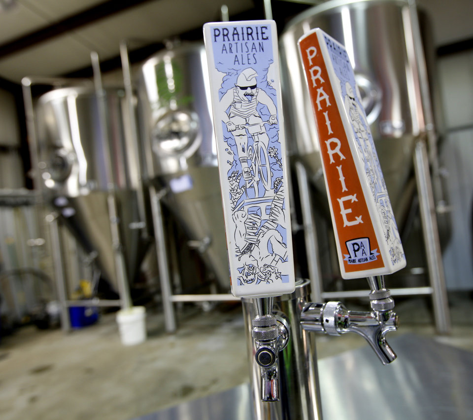 Photo -  Prairie Artisan Ales brewery in Tulsa, Wednesday July  23 , 2014. Photo By Steve Gooch, The Oklahoman