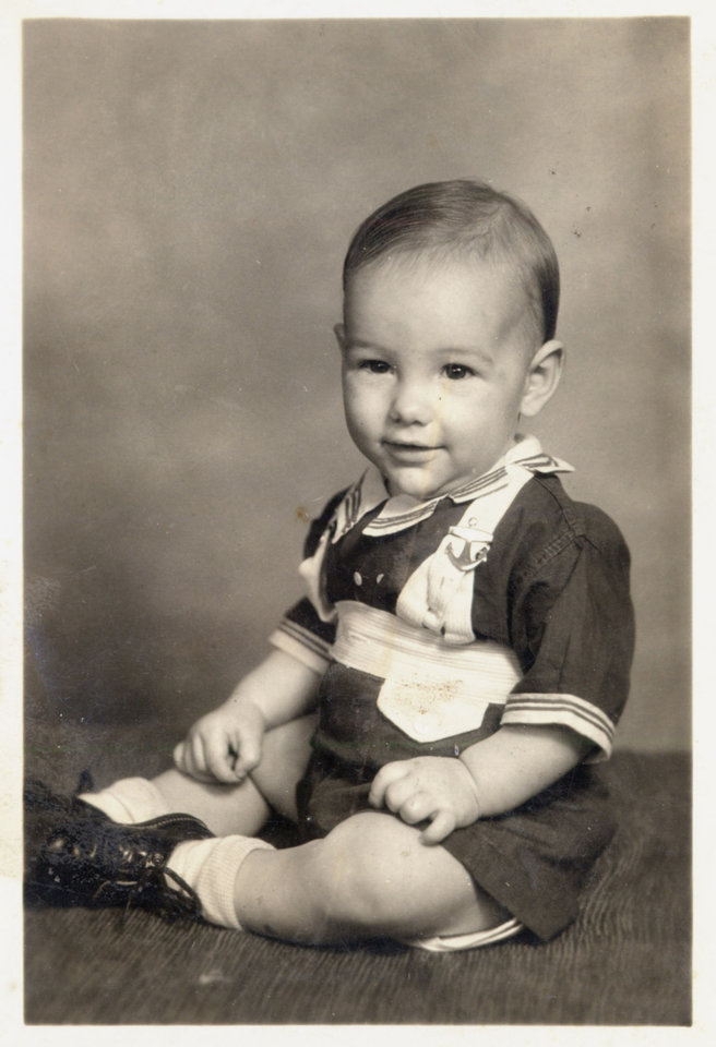 Photo - Oklahoma City Bricktown developer Jim Brewer as a child. Photo Provided ORG XMIT: KOD