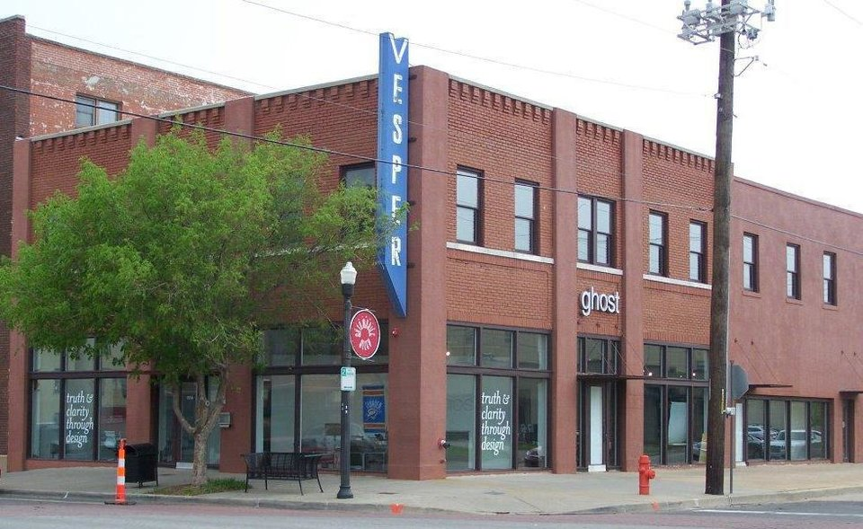 Photo - The Vesper Building, 929 N Broadway Ave. in the Automobile Alley Historic District, will be among properties receiving Citations of Merit from the State Historic Preservation Office at a banquet June 6 during the state historic preservation conference.   - PROVIDED BY STATE HISTORIC PRESE