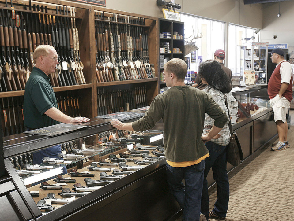 Photo - When the gun range opens, the owners of Heartland Outdoors in Edmond plan to host gun safety and conceal carry courses designed for women.