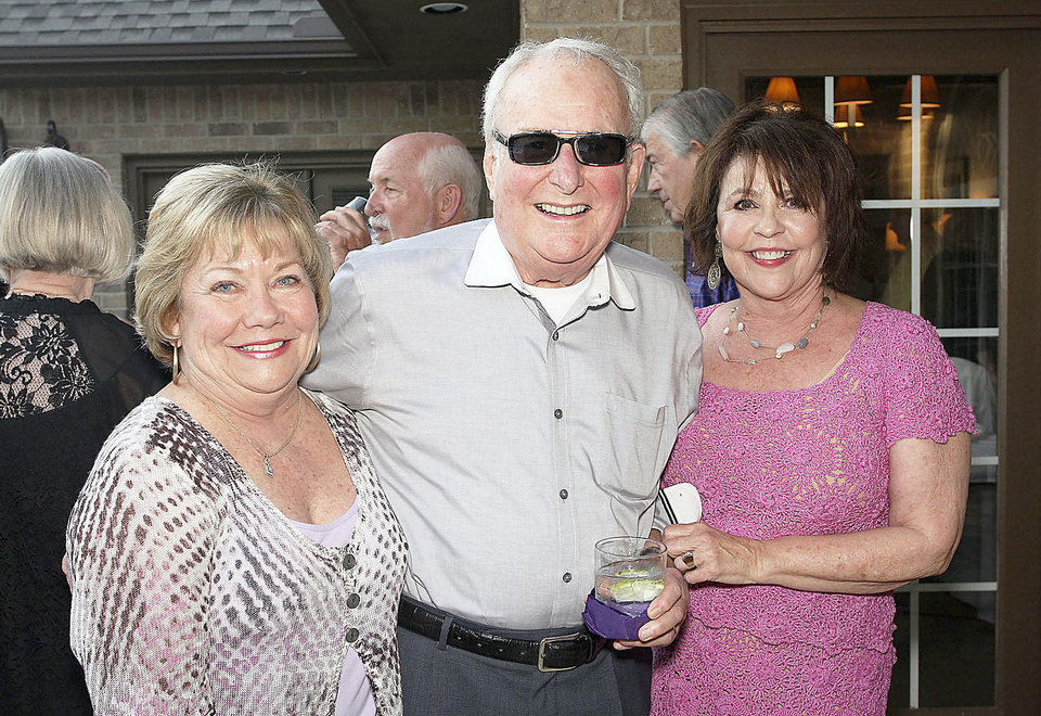 Patti Marshall, Bill and Judy Phillips.