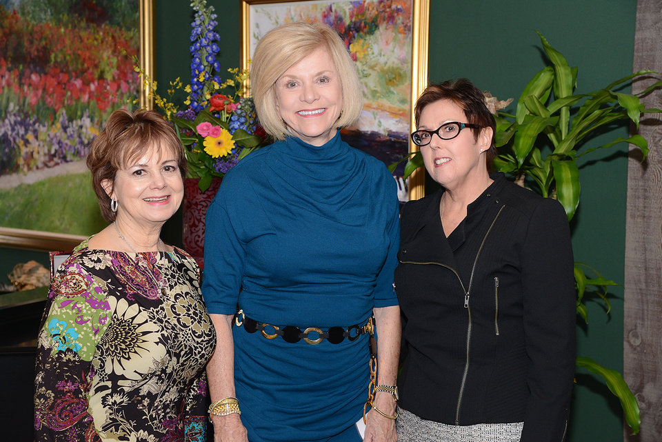 Photo -  Nancy Hyde, Judy Love, Jan Hill. Photos by David Faytinger, for The Oklahoman
