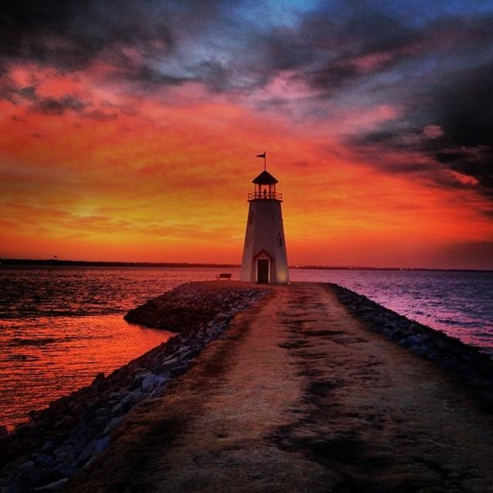 Lake Hefner - Photo by Instagrammer @sh_photography771