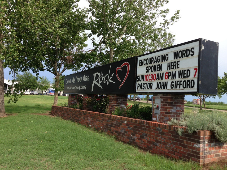 Photo - The Rock Assembly is in southwest Oklahoma City, at 12500 S Pennsylvania Ave.  PHOTO PROVIDED BY JOHN GIFFORD - The Rock Assembly