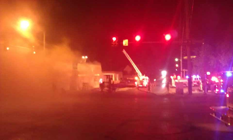Photo - Fire at NW 36th and Westaren