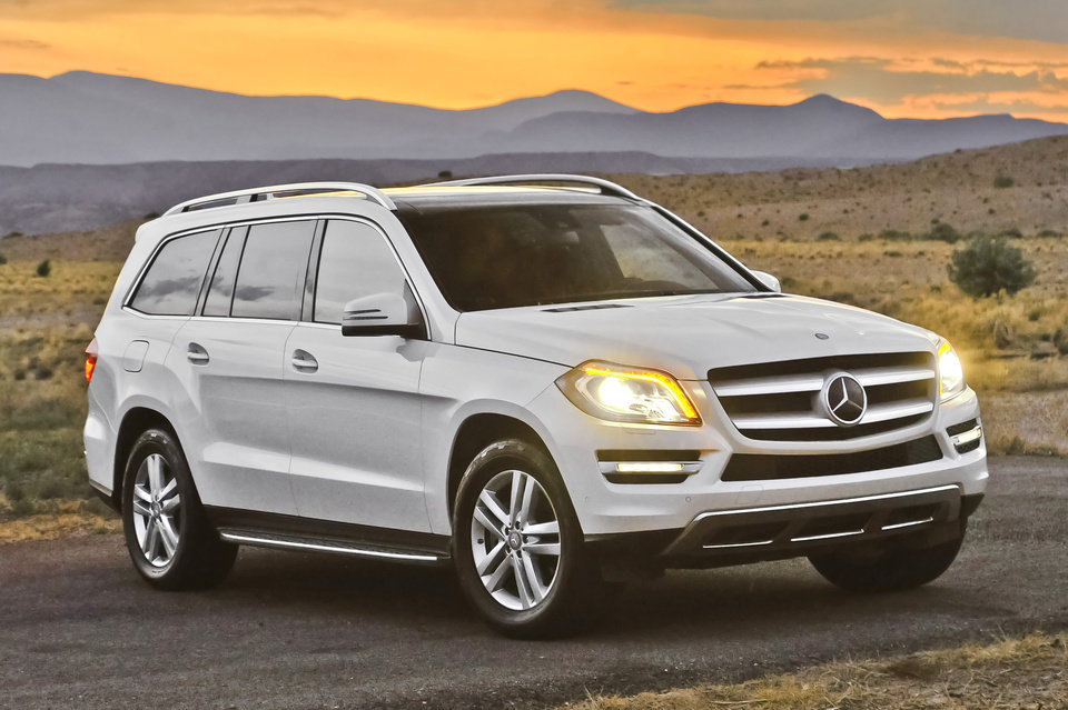 Photo - This undated image made available by Mercedes-Benz shows the 2013 Mercedes-Benz GL350. (AP Photo/Mercedes-Benz)