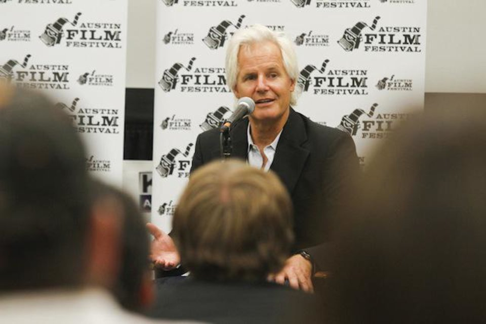 Chris Carter at the 2012 Austin Film Festival, Saturday, Oct. 20, 2012, in Austin, Texas.(Photo by Jack Plunkett)
