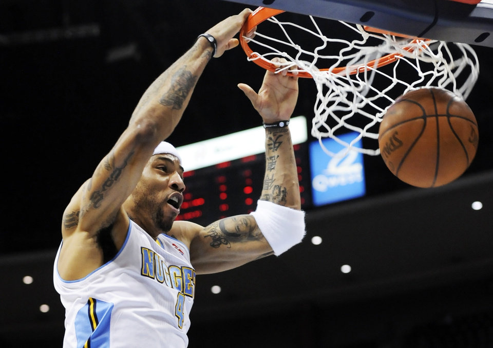 Forward Kenyon Martin: Averaged 8.6 points and 6.2 rebounds per game this season. (AP Photo/Jack Dempsey)