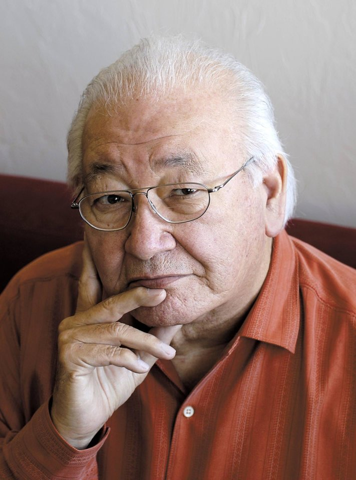 Pulitzer Prize-winning author N. Scott Momaday will read from his books at 7 p.m. Tuesday, Oct. 30, at Oklahoma City University. <strong> - Provided</strong>