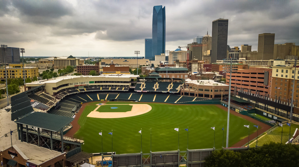 Photo - Chickasaw Bricktown Ballpark was named the best ballpark by