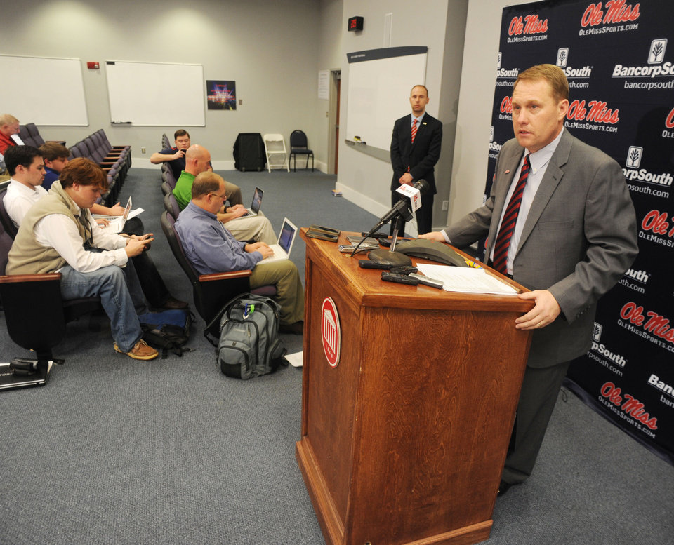 """<b>22. HUGH FREEZE, OLE MISS</b> <br />  Hugh Freeze replaces Houston Nutt. Freeze was coaching high school as recently as 2004. He was coaching NAIA Lambuth as recently as 2009. But he went 10-2 as head coach at Arkansas State last year and now coaches the Rebels. Let me ask you. If not for the movie """"The Blind Side,"""" the story of NFL offensive tackle Michael Oher, who played for Freeze at Memphis' Briarcrest Christian High School, would Freeze have the Ole Miss job?"""