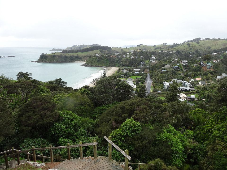 Photo - Waiheke Island is a densely-populated island with beautiful scenery and sky-high property prices.  PHOTO BY DAMON FONTENOT, THE OKLAHOMAN