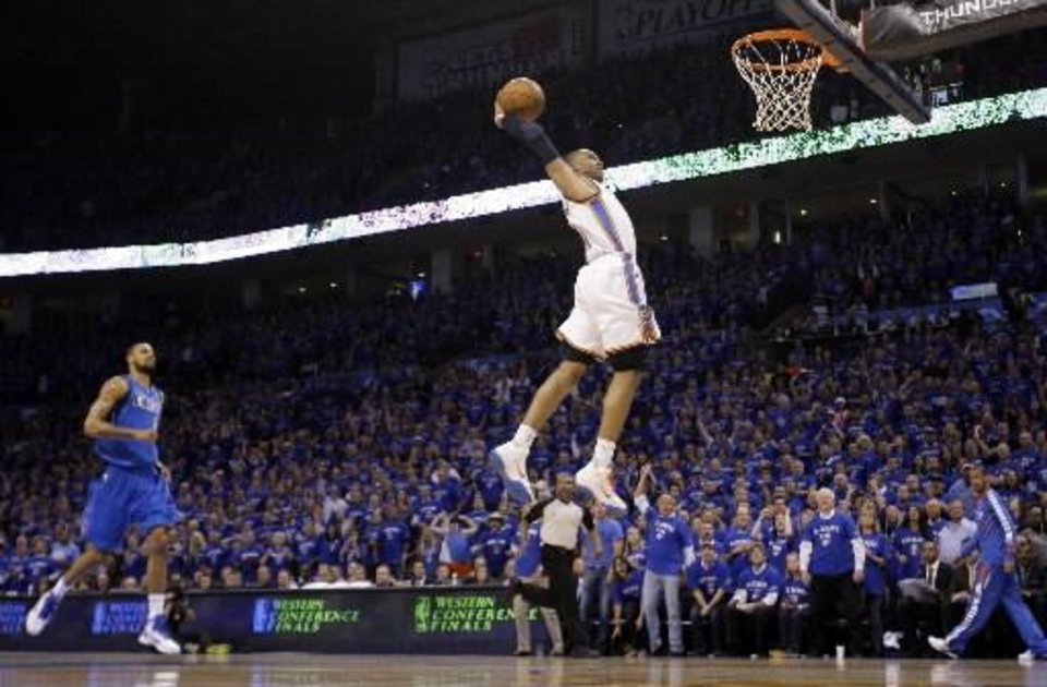 OKC Thunder guard Russell Westbrook has soared up the list of the league\'s best.